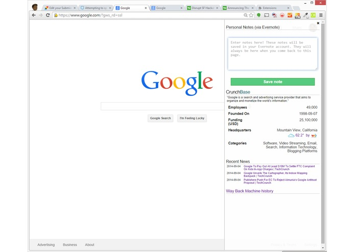 ChromeCrunch – screenshot 4