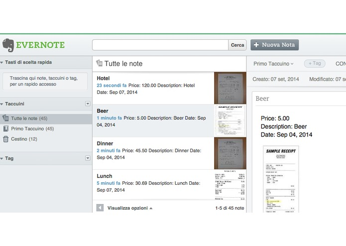 ReceiptTracker for Evernote – screenshot 9
