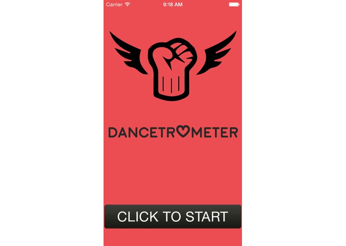 Dancetrometer – screenshot 1