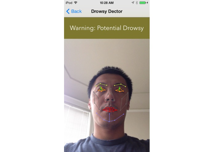 Drowsy Detector – screenshot 2