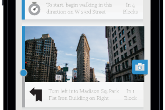 Landmark: Visual Walking Navigation, Without the Maps