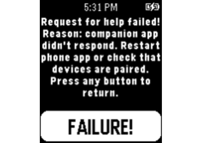 Fast SOS Pebble911 – screenshot 3
