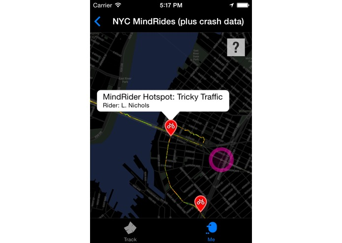 MindRider: A Bike System to Map Your Best Route – screenshot 11