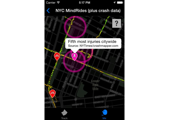 MindRider: A Bike System to Map Your Best Route – screenshot 12