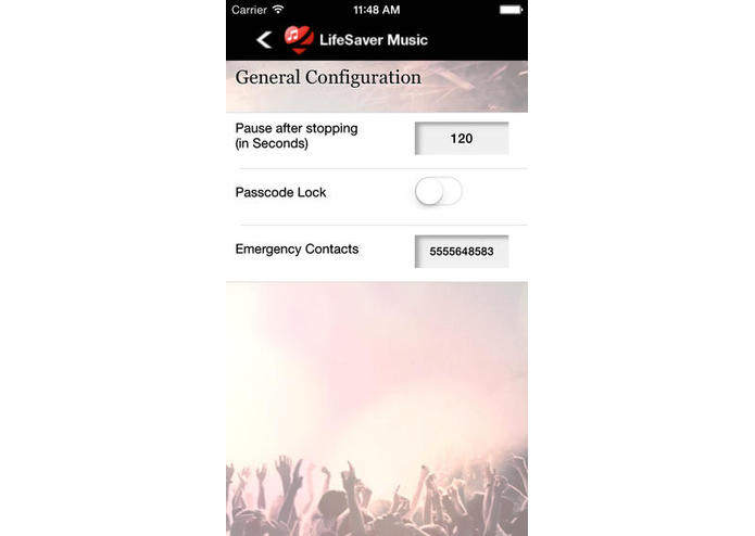 LifeSaver app for iPhones – screenshot 4