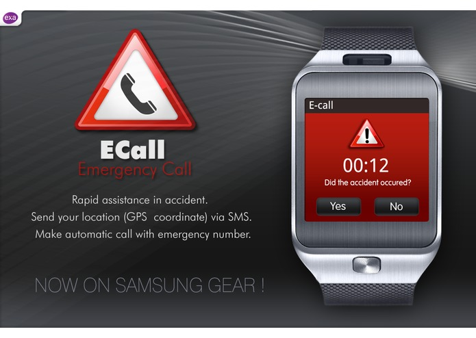 eCall - Automatic Emergency Call – screenshot 2