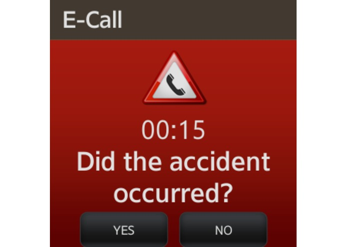 eCall - Automatic Emergency Call – screenshot 4