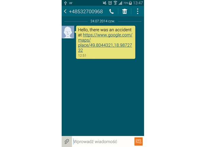 eCall - Automatic Emergency Call – screenshot 6