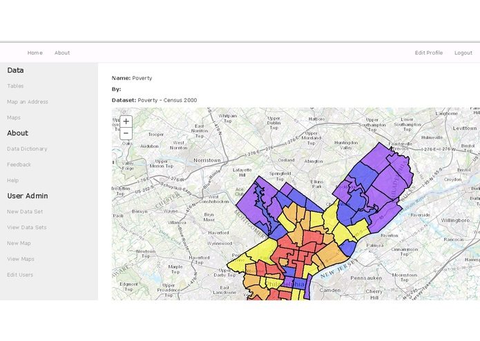 Philadelphia Neighborhood Maps – screenshot 1