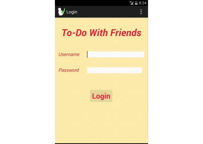 To-Do With Friends – screenshot 3