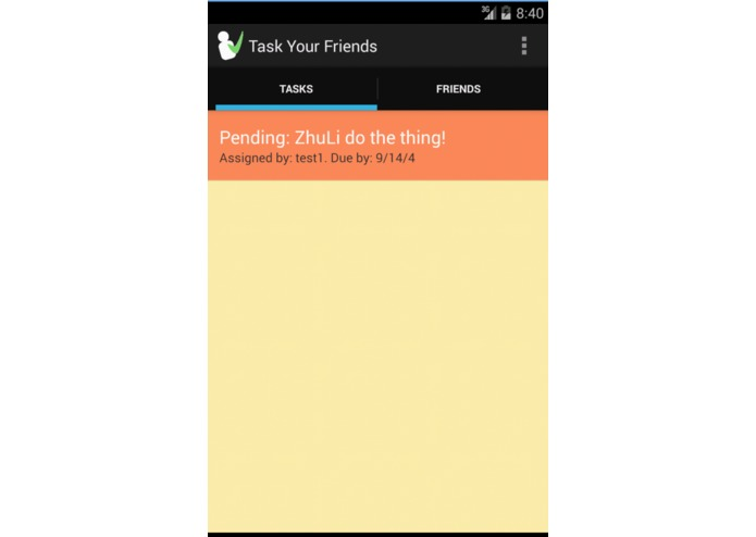 To-Do With Friends – screenshot 5