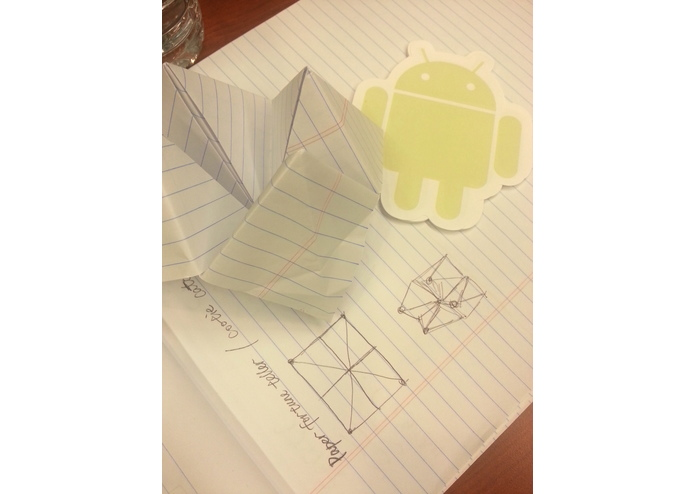 3D Paper Fortune Teller (Android Game) – screenshot 1