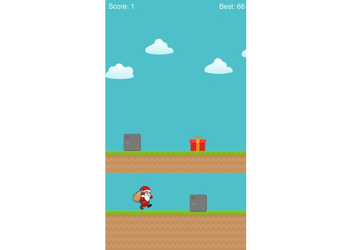 SantaRun – screenshot 1