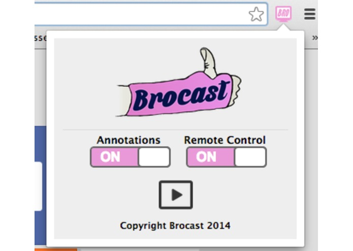 brocast – screenshot 3