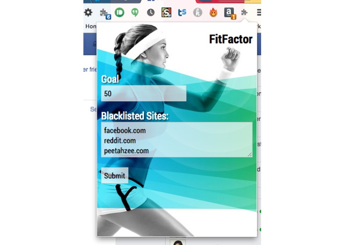 FitFactor – screenshot 2