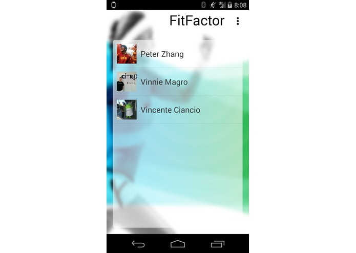 FitFactor – screenshot 3