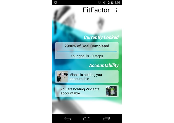FitFactor – screenshot 4