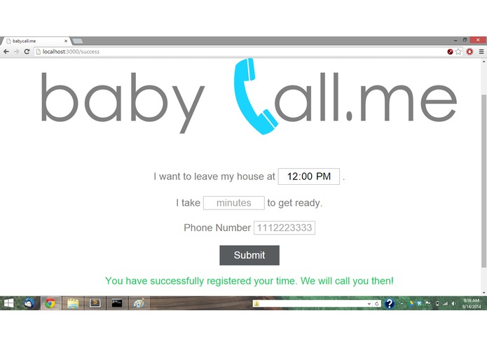 babycall.me – screenshot 1