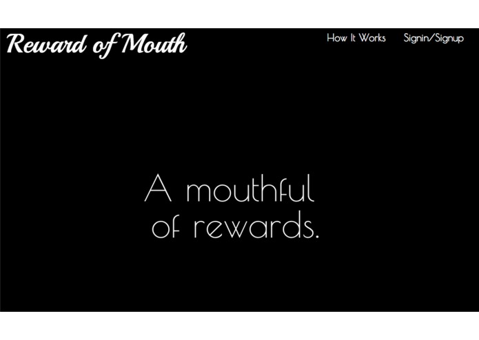 Reward of Mouth – screenshot 1