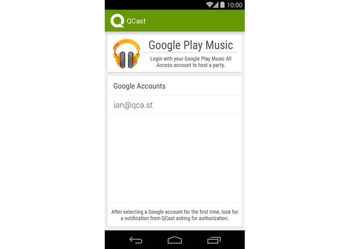 QCast Music – screenshot 5
