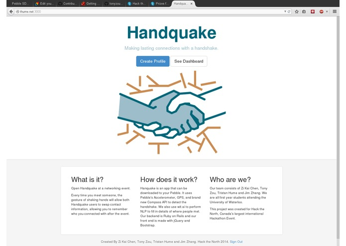 Handquake – screenshot 2