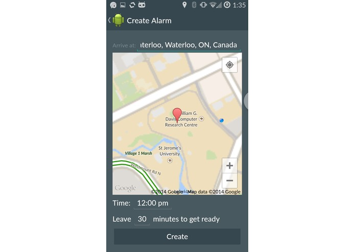 YTime Traffic-Aware Alarm Clock – screenshot 4