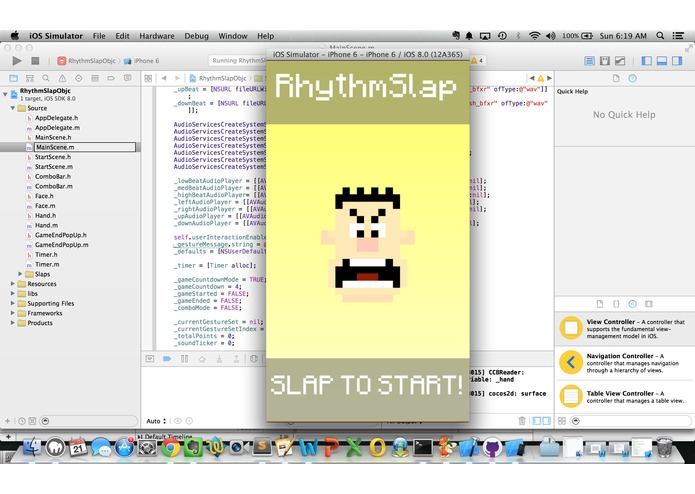 RhythmSlap – screenshot 1