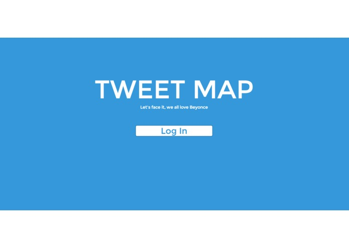 Tweet Map – screenshot 1