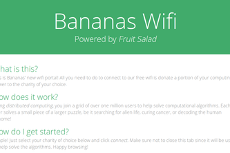 Bananas Wifi