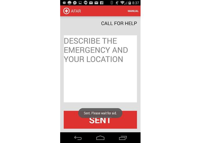 AFAR (Advanced First Aid Response System) – screenshot 3