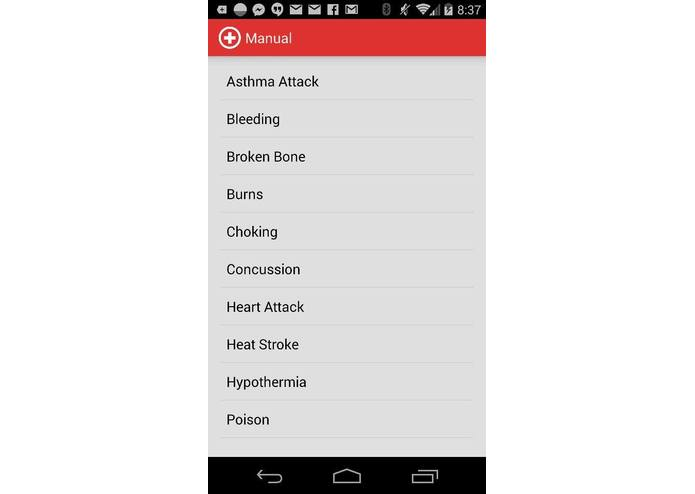 AFAR (Advanced First Aid Response System) – screenshot 4