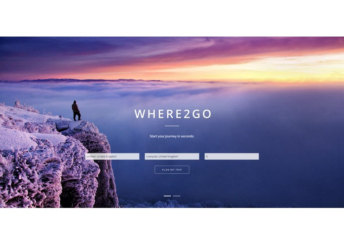 Where2go – screenshot 1