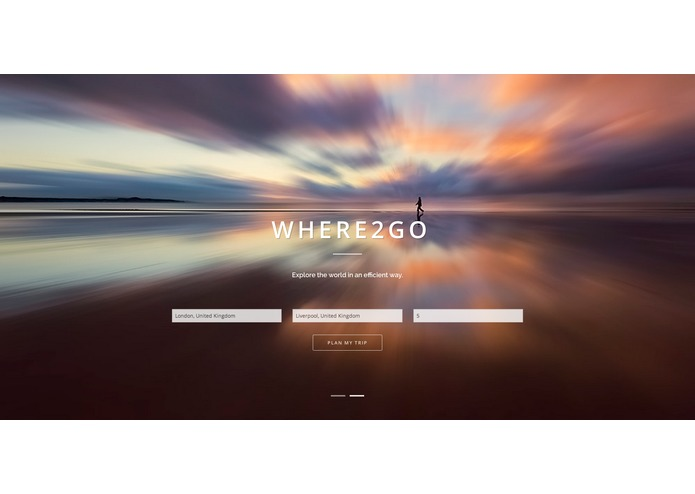 Where2go – screenshot 2