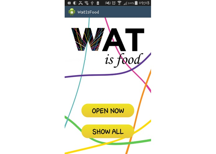WatIsFood – screenshot 1