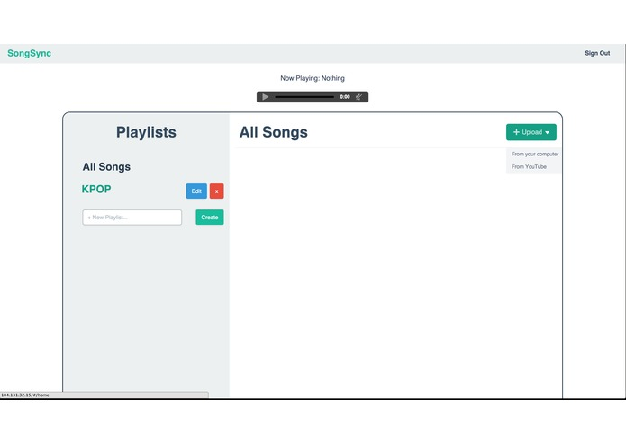 SongSync – screenshot 2
