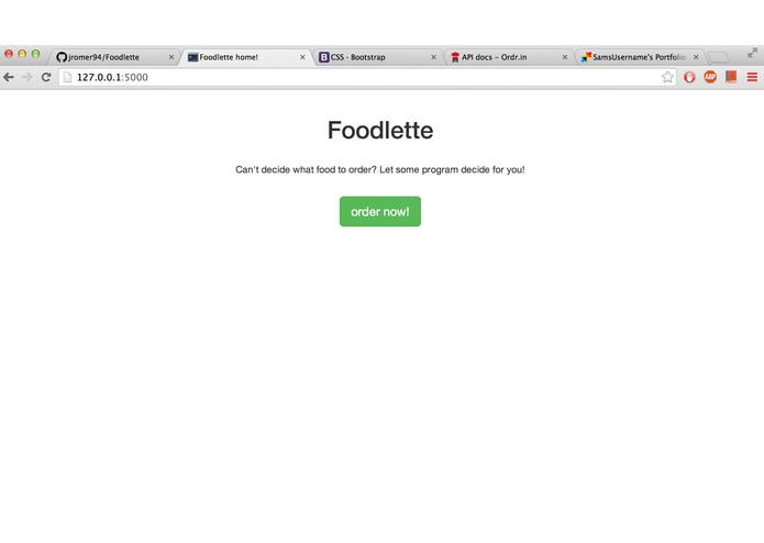 Foodlette – screenshot 1
