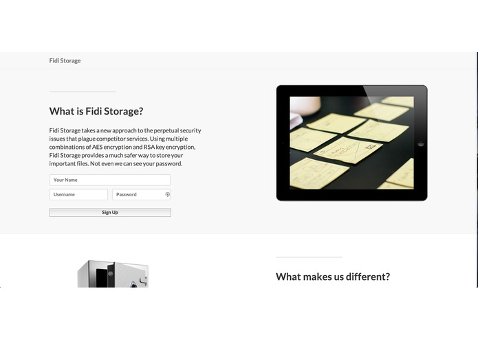 FIDI Storage – screenshot 3