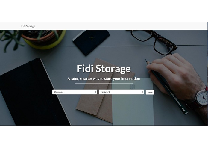 FIDI Storage – screenshot 5