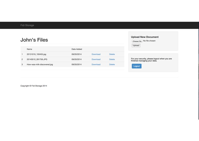 FIDI Storage – screenshot 7
