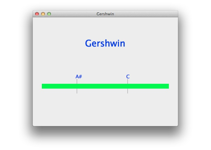Gershwin – screenshot 1