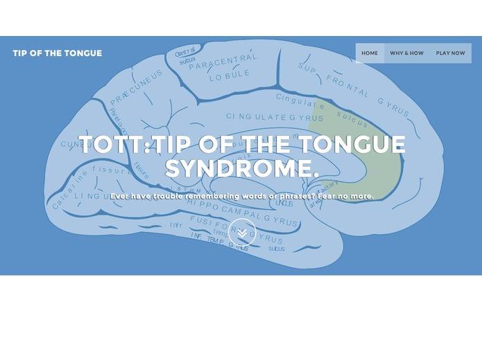 ToTT: Tip of the Tongue – screenshot 1