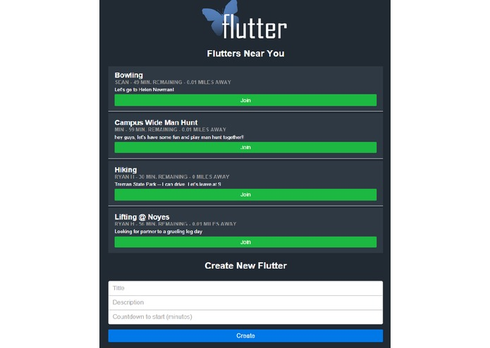 Flutter – screenshot 1