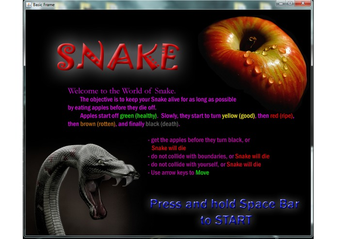 Snake – screenshot 1