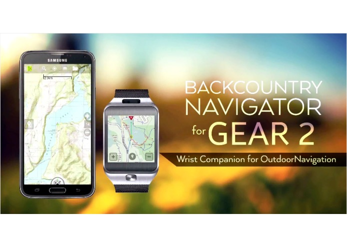 BackCountry Navigator for Gear 2 – screenshot 1