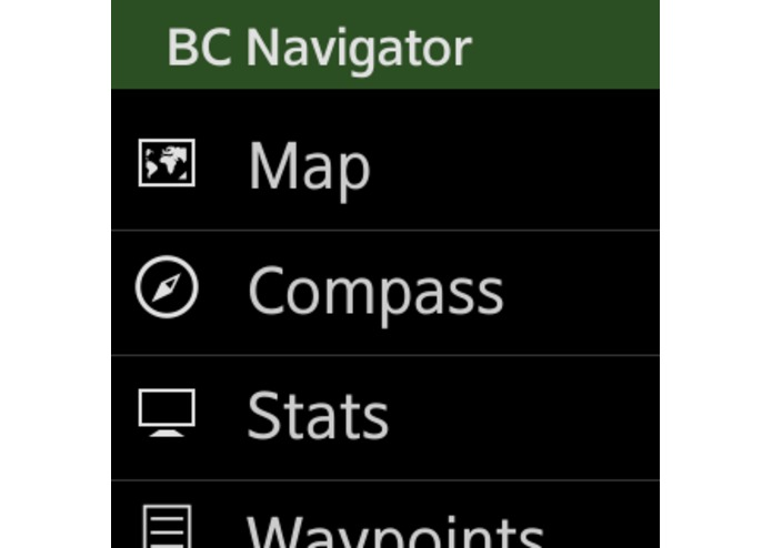 BackCountry Navigator for Gear 2 – screenshot 5