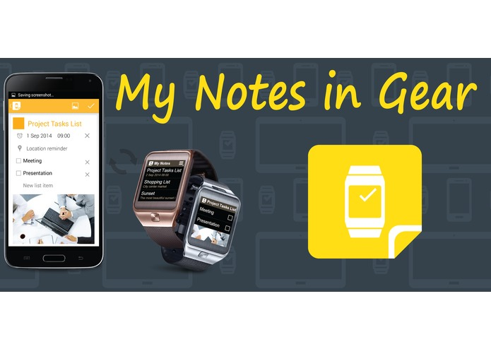 My Notes in Gear – screenshot 1