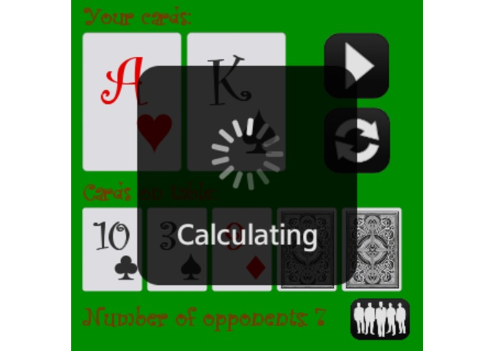 Holdem Calculator – screenshot 3