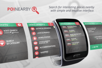 POI nearby for Galaxy Gear