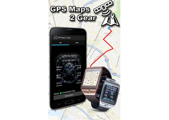 GPS Maps 2 Gear  – screenshot 1