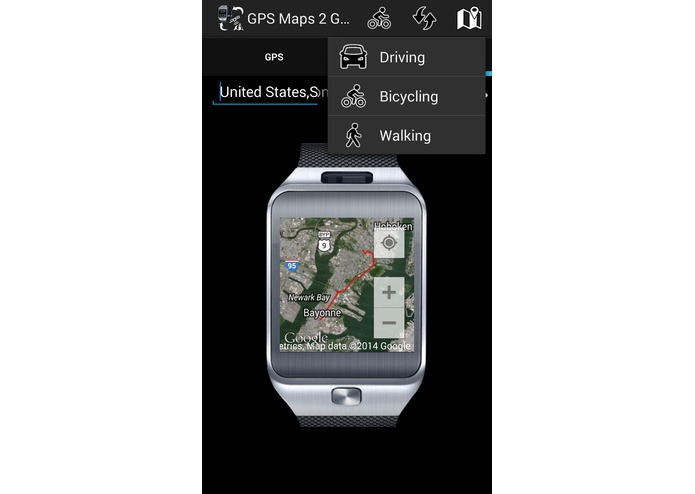 GPS Maps 2 Gear  – screenshot 5